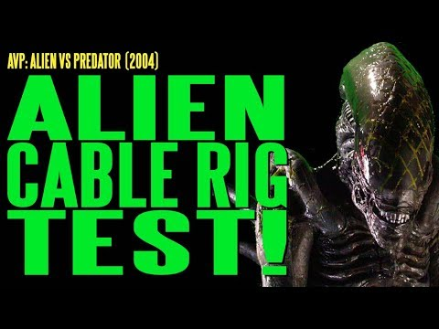 AVP Alien Cable Rig Test BTS