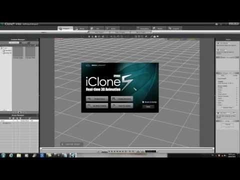 tutorial de como usar iclone v5.0   movimientos del esqueleto