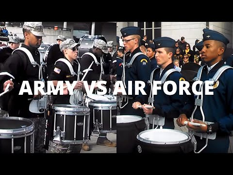 Drumline Battle | Army vs Air Force (Who Won?)
