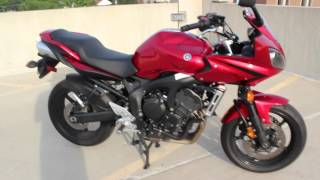 6. 2007 Yamaha FZ6 Review