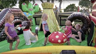 Video Bounce House Playground! MP3, 3GP, MP4, WEBM, AVI, FLV Juli 2018