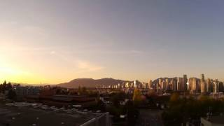 Timelapse Vancouver, British Columbia