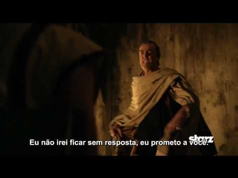 Spartacus: Blood and Sand - Episódio 1x11 - Old Wounds - Promo Legendada PT/BR