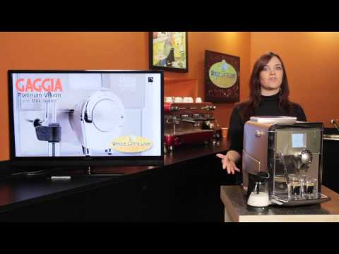 Gaggia Platinum Vision with Milk Island: What's Brewing #47