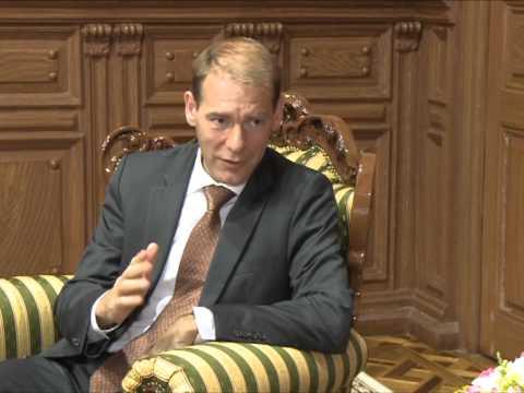 Nicolae Timofti a avut o întrevedere cu Menno Snel, directorul executiv al FMI pentru Republica Moldova
