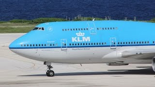 Curacao airport | Mega jets landing and taking off #2