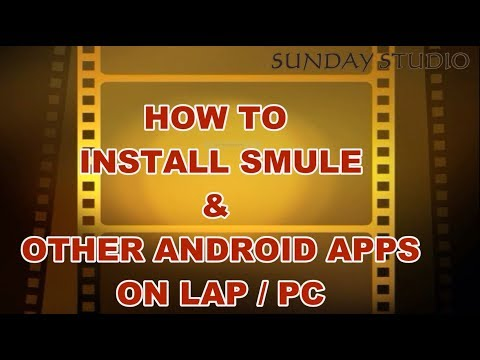 How To Use SMULE App On PC/Lap In HINDI