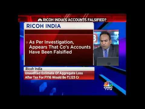Are Ricoh India's Accounts Falsified?