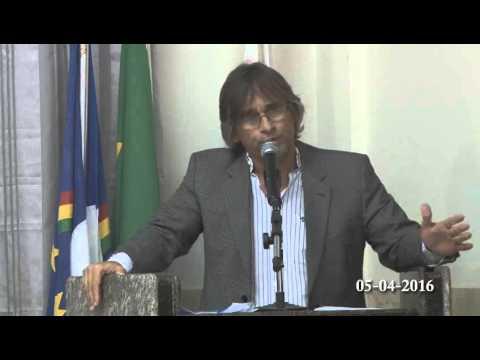 Discurso do Vereador Junhão Lins Câmara de Vereadores Sertânia-PE em 05/04/2016
