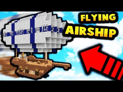FLYING AIR SHIP!? | Minecraft Modded Factions #6