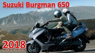 10. 2018 Suzuki Burgman 650