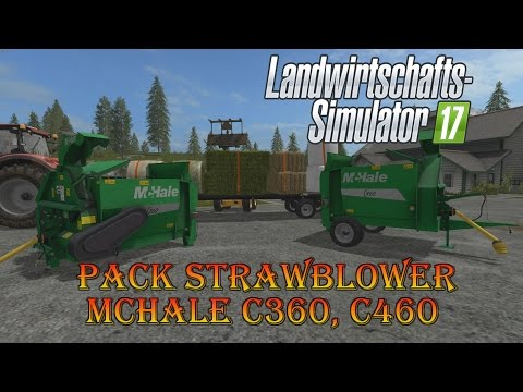 Pack Straw Blower McHale c360, C460 v1.1