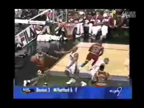 Allen Iverson VS Michael Jordan *First Game 1996*
