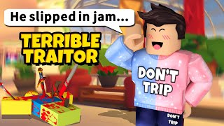 Roblox Traitor but I only betray myself