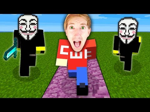 I FOUND HACKERS in MINECRAFT while Spending 24 Hours Searching for Project Zorgo Safe Code in Game