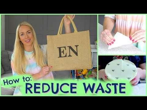 HOW TO REDUCE FAMILY WASTE  |  HACKS TO REDUCE WASTE  |  EMILY NORRIS