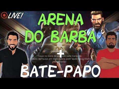 Live de Supresa! (28/3) Bora atrás do Barba e Bate-Papo  Marvel Torneio de Campeões