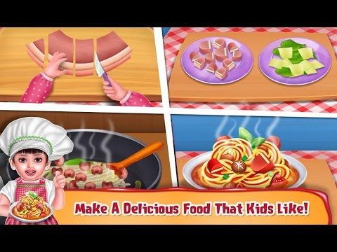 Aadhya's Restaurant, Cooking Games, Restaurant Games,  Play This Cooking Kids Game