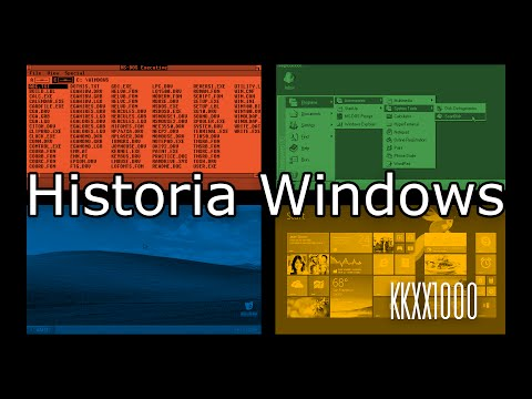 Historia Windows (1985-2015) — Od MS-DOSa do kafelków