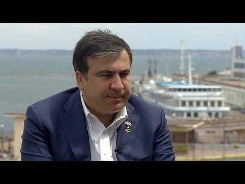 Ο Mιχαήλ Σαακασβίλι στο euronews