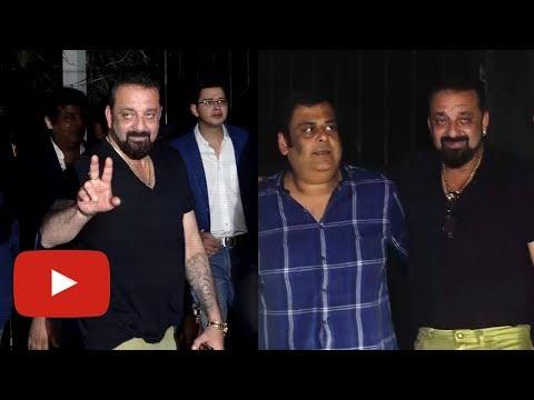 Sanjay Dutt At Bunny Sanghvi's B Lounge Launch