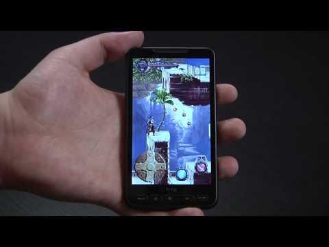 Przegląd gier na HTC HD2