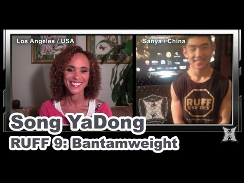 chinese - MMA H.E.A.T.'s Karyn Bryant talks via Skype with Ranik Ultimate Fighting Federation's Song YaDong before the RUFF 9 weigh-ins, taking place at the MGM Grand ...
