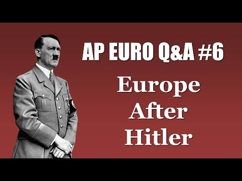 Download AP Euro Post-WWII Stuff (Cold War, Feminism, European Integration, etc.) HD Mp4 3GP Video and MP3