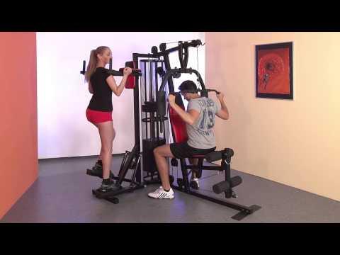 Christopeit Fitness Station Profi Center de Luxe