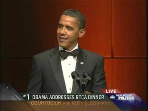 (PT.1/2) Barack Obama's Stand-Up Comedy at 65th Radio & Television Correspondents' (RTCA) Dinner