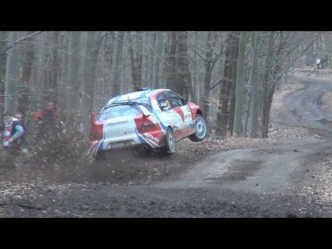 Eger Rallye 2015 Action & Crash