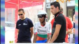 Eritrean News - EriTV - Tour De France - Natnael Berhane
