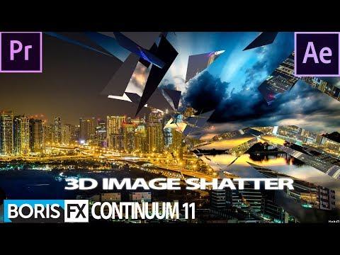 Boris Fx Continuum 11 Tutorial:3D Image Shatter