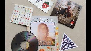 Katy Perry - PRISM (Zinepak) - UNBOXING