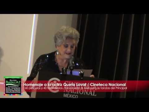 Queta Lavat perdona a Jorge Negrete, recibe Homenaje en la Cineteca Nacional