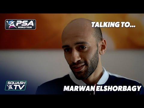 Squash: Talking To... Marwan ElShorbagy