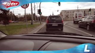 Rajder - Toruń trasy egzaminacyjne - Zawracanie przy kaszowniku - Kursy jazdy