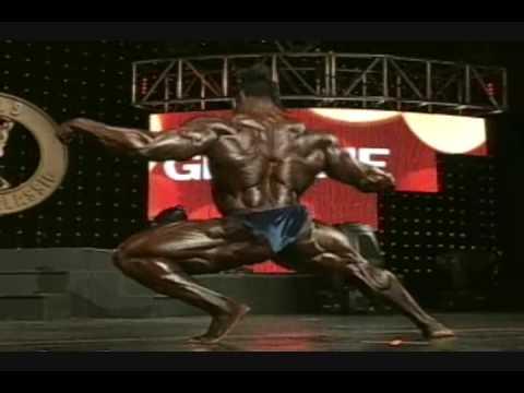 Кай Грин - Arnold Classic 2009 Posing