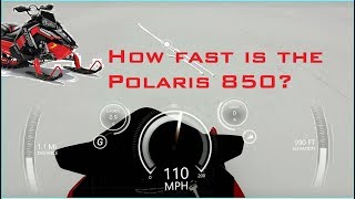 6. How fast is the Polaris Axys 850 Patriot on GPS out of the crate? Find out here!