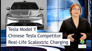 ecoTEC 46: Tesla Model Y, Real Life Scalextric Charging For EVs!