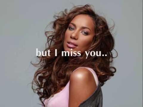 """Leona Lewis """"Naked"""" (with lyrics on screen)"""