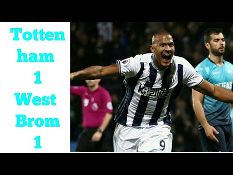 Tottenham 1-1 West Brom  All goals and extended highlights!