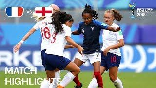Video France v England - FIFA U-20 Women's World Cup France 2018 - Match 31 MP3, 3GP, MP4, WEBM, AVI, FLV Maret 2019