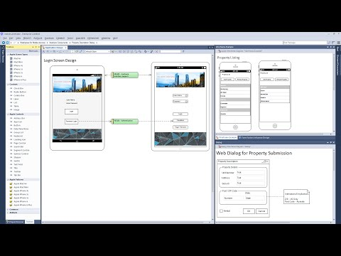 Modeling Wireframes for Mobile Apps and Web Pages (видео)