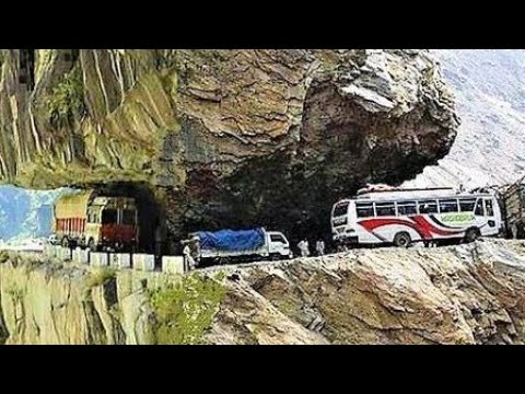 The Most Adventurous & Beautiful Road In The World - Mandi - Way To Manali  , Himachal  , India