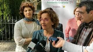 Paradas de autobuses seguras y «taxis morados», entre las medidas del proyecto 'Ciudad de Mujeres' de Unidas Podemos