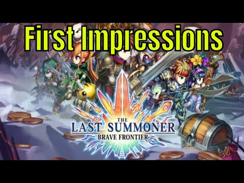 Brave Frontier: Last Summoner First Impressions