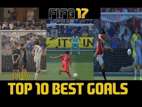 FIFA 17 TOP 10 BEST GOALS SO FAR...