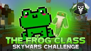 THE FROG CHALLENGE + CALLED A HACKER! ( Hypixel Skywars )