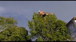 Finał norweskich zawodów w skokach do basenu z rozbryzgiem